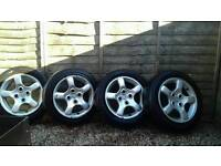 "Peugeot 206 15"" GTI Alloys"