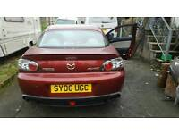 Mazda evolve rx8 special edition very low mileage