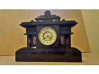 19TH century French Mantel Marble Heave clock - Rare