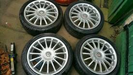 "Mg 17"" alloy wheels 4x100"