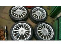 "Mg 17"" alloy wheels 4x100"