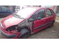 CITROEN PICASSO XSARA LX 2002, 2 DIESEL, BREAKING FOR PARTS ONLY, POSTAGE AVAILABLE NATIONWIDE
