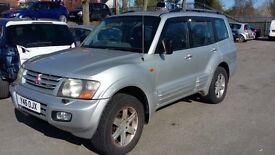 2001 Mitsubishi Shogun 3.2