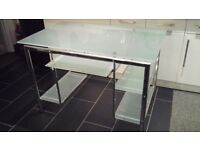 Glass computer / office table