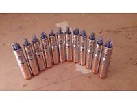 12 Paslode series i gas cartridges