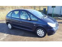 Diesel 2003 Citroen Picasso Desire HDI 1 Previous Owner 5 Door Sunroof....
