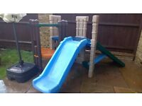 Little Tikes climbing frame with slide, good condition