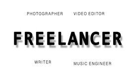 Freelance Music Engineer, Photographer and Video Editor