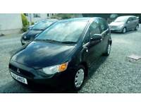 09 Mitsubishi COLT Cz1 5 DOOR Full 12 Mts MOT great Driver 2Keys Can be seen anytime
