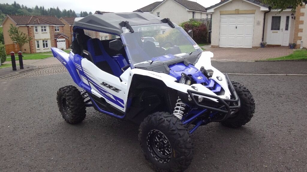 yamaha yxz 1000r road legal side by side buggy nearly new in glasgow gumtree. Black Bedroom Furniture Sets. Home Design Ideas