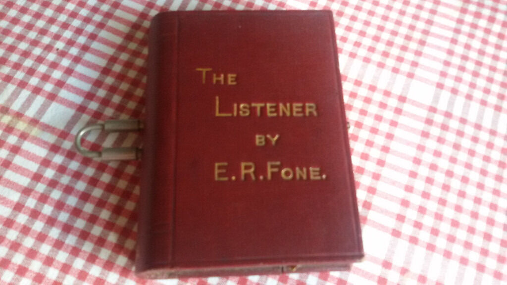 """Rare early crystal radio by Kenmac Radio Co, Londonin Broadway, WorcestershireGumtree - An early book form crystal set radio """"""""The Listener"""""""" by E.R.Phone. Kenmac Radio Co Ltd London. Not tested. Sold as a collectors item. Incredibly rare and in good condition"""