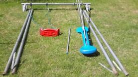 Swing and swing glider
