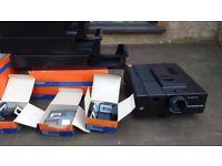 Agfa slide projector Diamator 1500 with agfa 85mm f2.8 lens .
