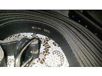 wholesale brand new child belts black metal buckle 2 sizes 94cm,102cm