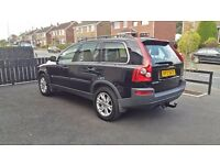 Black VOLVO XC90 2.4 D5 AWD 5 DOOR AUTOMATIC 2006 SUV 7 SEATER 5DR