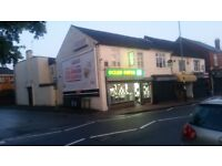 Fish and chip shop kebab shop with flat for lease