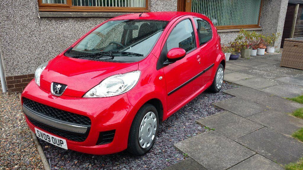 Peugeot 107, Low mileage, 5 door, central locking, elctric front windows.