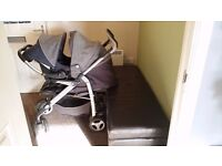 I am selling this pushchair with carseat