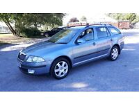 SKODA OCTAVIA 1,9 TDI PD ELEGANCE ESTATE,57 REG.MANUAL