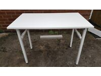 NEED Folding computer table - NEW, NEVER USED