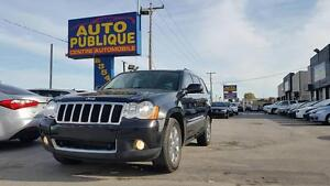 JEEP GRAND CHEROKEE S LIMITED 2008/ AWD/ DIESEL/ AC/ CUIR/ TOUT