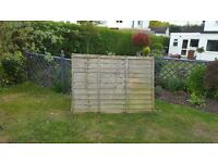 4 x Fence Panels for sale