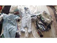 Baby boy newborn & 0-3 bundle