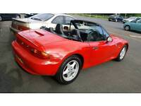BMW Z3 RED CABRIOLET CONVERTIBLE