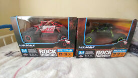 RC cars with 20 km/h ---- 2.4GHz 4.8V 700mA Drive Type: 4 WD red / green