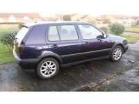 Volkswagen Golf GTI mk3 1996 - RARE One Owner Car from new - Mystic Blue