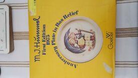 Hummel Anniversary Plate