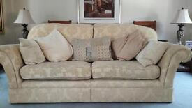 Two M&S 3 seater sofa's