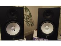 Yamaha HS 80M Powered Studio Monitors (pair) Like new, boxed