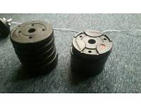 10 X 1.25kg weight plates