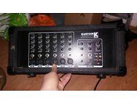 kustom KPM6160 powered mixer