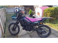 Yamaha CROSS yz 250 , two stroke very strong.