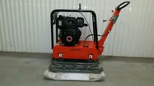 DIESEL REVERSIBLE PLATE COMPACTOR TAMPER KIPOR  + 1 YEAR WARRANTY + FREE EXTENSION PLATES + FREE SHIPPING !!