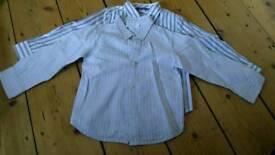 2 boys shirts 4-5yrs, John Lewis, Little White Co