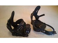 Salomon Relay Pro Snowboard Bindings - Black size large