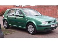 FOR SALE VW GOLF 4 TDI VERY ECONOMY NEW MOT EXCELLENT CONDITION!!