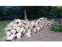 Tons of Big Decorative Garden Rocks, ideal for ponds, terraces and general gardening
