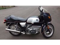 BMW R100RS Classic bike, beautiful example, 11 months MOT, original panniers. Reduced to sell.