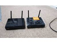 REDUCED 2x D-LINK WiFi wireless router
