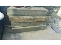 Yorkshire Stone Stills Lintel Heads bricks