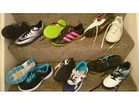 Football boots / Trainers Adidas & Nike