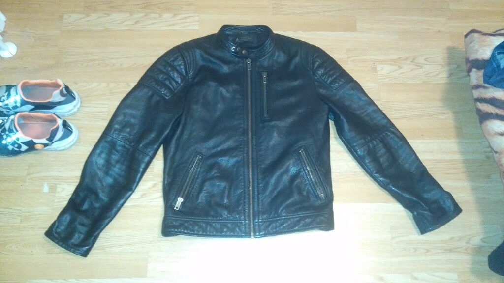 leather jacket label lab profesional