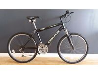 "CASCADE SPECTRE 18 SPEED SUSPENSION MOUNTAIN BIKE 26"" WHEEL"