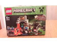 Minecraft lego set 21113 The Cave.