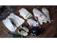 Large selecruon mens size medium to large cricket gear