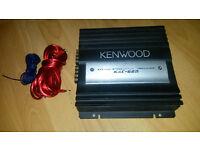 kenwood kac-628 stereo/mono subwoofer amplifier